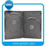 Alta qualidade 14mm Single / Double Side Black DVD Box DVD Cover