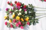 Silk künstliche Blumen-Pfingstrose-Fälschungs-Blumen für Haupthochzeits-Dekoration