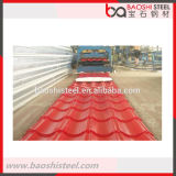 Плитка крыши металла оптового цвета Coated Corrugated