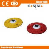 صفراء أو بوليثين أحمر بلاستيكيّة مستديرة شمسيّة سرعة حدبة