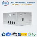 Perfil de aluminio de la alta precisión para el recinto de la electrónica con trabajar a máquina del CNC