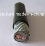 Cable de transmisión profesional del aislante de Manufactural XLPE