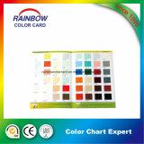 Serviços de impressão profissionais do folheto da alta qualidade para a carta de cor