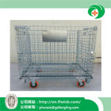 Caliente-Venta de la jaula plegable de la logística del acero para el almacén con Ce