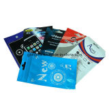 Sac en PVC souple pour l'emballage cosmétique, avec du matériel écologique, impression en soie