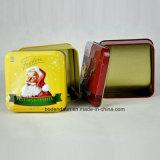 Kundenspezifisches Metallgeschenk-verpackenkasten, verpackendes Weihnachtsgeschenk, Weihnachtszinn-Kasten