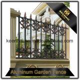 Met een laag bedekte het Poeder van de in het groot & Lage Prijs goot de Zwarte Omheining van het Aluminium voor Tuin