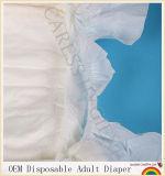 Couche-culotte adulte remplaçable d'OEM avec l'indicateur d'humidité