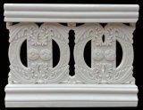 Sandstein-Skulptur-Baumaterial-Balkon-Zaun für Haus-Dekorationen