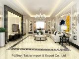 Voll polierte glasig-glänzende 600X600mm Porzellan-Fußboden-Fliese (TJ64024)