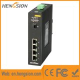 Portas de 4 Gigabit e 1 Switch de rede Industrial Ethernet SFP