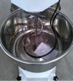 大きい容量の商業ステンレス鋼の二重速度の螺線形のこね粉ミキサー