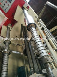 Horizontale Rahmen-Aluminiumfolie-Rolle zum zu rollen, Rückspulen-Maschine aufschlitzend