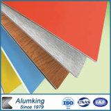 PVDF überzogenes orange, rotes, schwarzes Ect. Zusammengesetztes Panel AluminiumaCP