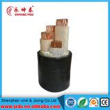 Condutor de cobre do núcleo de Yjv 4 isolado/cabo distribuidor de corrente da bainha