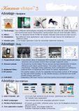 피부 바짝 죄기 체중을 줄이는 판매/적외선 RF 진공 롤러 시스템 연구개 모양을%s Velashape 다기능 기계