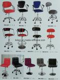 판매를 위한 팔걸이를 가진 회전대 PU 바 의자 의자