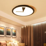 24W 32W 38Wの居間/寝室のための円形の一義的な現代同じ高さの台紙の照明設備LEDの天井ランプライト