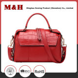 Multi-Pocketed Portable PU Leather Shoulder Lady Handbags