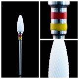 Zirconia Solid Ceramic Bur Cutter para Laboratório Dental e Nail Salon