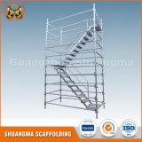 Andamio de acero del sistema de Kwikstage de la plataforma de funcionamiento de la construcción