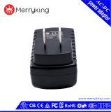 12V 1A wir Stecker-Schaltungs-Energie Wechselstrom-Gleichstrom-Adapter mit UL/cUL/FCC