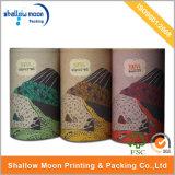 Customized Black Printing Rigid Paper Tea Packaging Box (QYCI232)