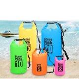 Saco impermeável universal do PVC das atividades ao ar livre de saco seco do bloco do oceano