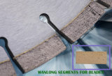 El diamante de corte del granito filetea los segmentos del diamante para la losa y el corte por bloques