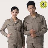 편리한 면 능직물 일 제복, 일 작업복, 주문품 일 착용