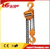 Capacité lourde 2000kg de bloc à chaînes de main
