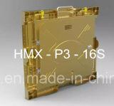 Alta qualidade do uso interno do gabinete P3 da tela de indicador do diodo emissor de luz
