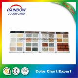 Pierre réelle avec le catalogue de couleur de peinture de surface de texture pour la publicité