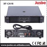 Jusbe Xf-Ca18のクラスH屋外のためのアンプ1200-1800ワットの高い発電PAのサウンド・システムの段階パフォーマンス拡声器の