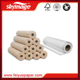 90GSM 610mmの幅のポリエステル織物のための速い乾燥した経済の昇華転写紙