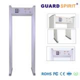 Menschlicher Anzeige-Lampen-Torbogen-Busbahnhof-Sicherheits-Metalldetektor mit Kennwortschutz