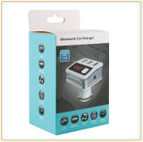 O carregador do carro do transmissor de FM com tensão cheia do acumulador das canaletas de Bluetooth 3.0/FM deteta (BC12)