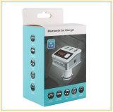Bluetooth 3.0/가득 차있는 FM 채널 통신로 누산기 전압을%s 가진 FM 전송기 차 충전기는 검출한다 (BC12)