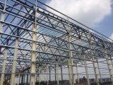 Gruppo di lavoro chiaro prefabbricato della fabbrica della struttura d'acciaio