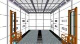 Großer Bus-Farbanstrich-Raum
