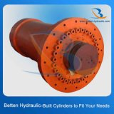 Hydraulischer teleskopischer Zylinder für das Anheben