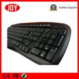 Компьютер USB Ультра-Тонкой клавиатуры Djj111A 104 водоустойчивый разделяет клавиатуру