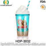 Vente en gros de crème glacée à base de glace BPA sans paille (HDP-3032)