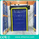 Puertas automáticas de obturación rápida y rápida de alta velocidad para el almacén frigorífico