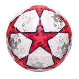 Самый лучший изготовленный на заказ кожаный термо- Bonded шарик футбола