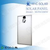 Panneau solaire photovoltaïque à énergie renouvelable 200W pour le marché de l'Inde