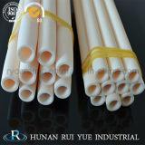 1800 tubo/Rod di ceramica dell'allumina del refrattario 99.7% di grado C