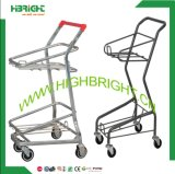 Conveniente Store Double Basket Shopping Cart