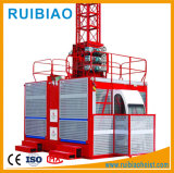 Élévateur de levage de double construction de cage à vendre