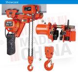 Grua Chain elétrica da Baixo-Altura livre de 1.5 toneladas para oficina limitada do espaço